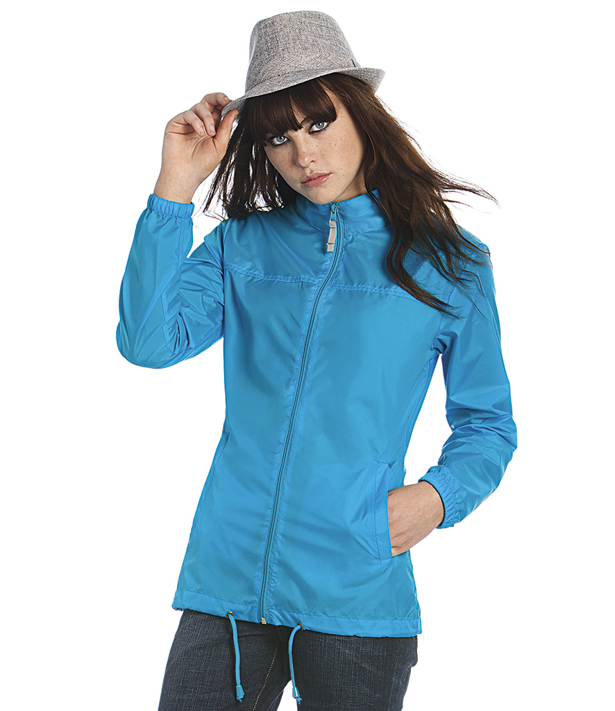 B&C Ladies Sirocco Windbreaker