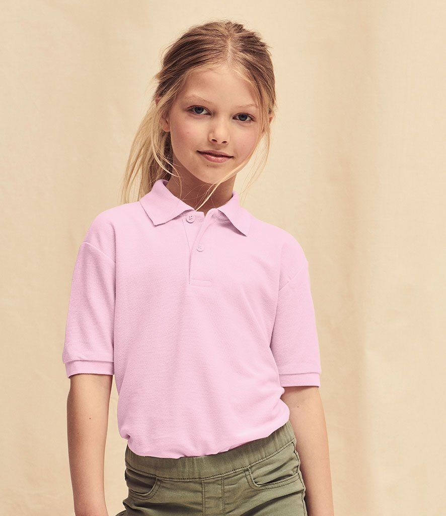 Fruit of the Loom Kids Polo Shirt