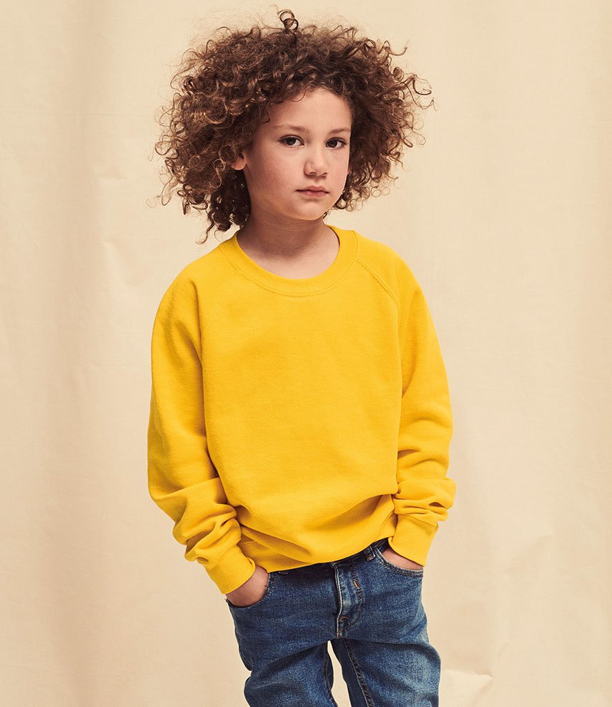 Kids Raglan Sweatshirt