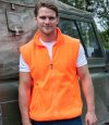 Enhanced Visibility Fleece Gilet