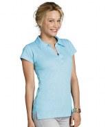 SOL'S Ladies Paprika Slub Polo Shirt