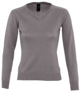 SOL'S Ladies Galaxy V Neck Sweater