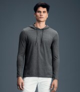 Anvil Fashion Basic Long Sleeve Hooded T-Shirt