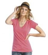B&C Ladies Blondie Classic V Neck T-Shirt