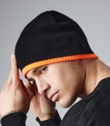 Beechfield Two-Tone Acrylic Knitted Beanie