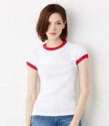 Bella Baby Rib Ringer T-Shirt