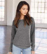 Bella Triblend Wideneck Sweatshirt