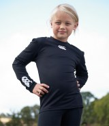 Canterbury Kids Long Sleeve Cold Base Layer