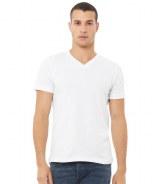 Canvas Jersey V Neck T-Shirt