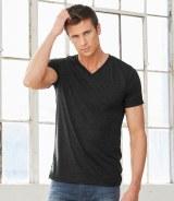 Canvas Triblend V Neck T-Shirt