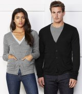 Canvas Unisex V Neck Cardigan