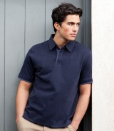 Front Row Collection Brushed Jersey Polo Shirt