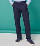 Henbury 6535 Flat Fronted Chino Trousers