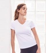 AWDis Girlie Cool V Neck T-Shirt
