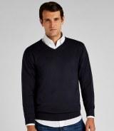 Kustom Kit Arundel V Neck Sweater