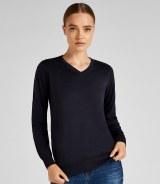 Kustom Kit Ladies Arundel V Neck Sweater