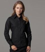Kustom Kit Ladies Long Sleeve Business Shirt