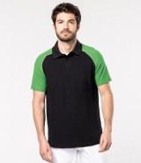 Kariban Baseball Pique Polo Shirt