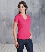 Kariban Ladies V Neck T-Shirt