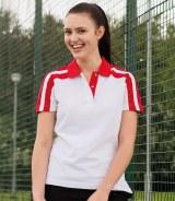 Finden & Hales Ladies Racing Pique Polo Shirt