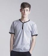 Skinnifitmen Button T-Shirt