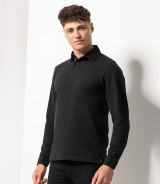 Skinnifitmen Long Sleeve Modern Stretch Polo Shirt