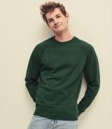 Fruit of the Loom Lightweight Raglan Sweatshirt