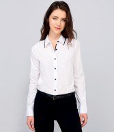10569: Ladies Baxter Long Sleeve Fitted Shirt