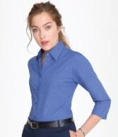 17050: SOL'S Ladies Eternity 3/4 Sleeve Poplin Shirt