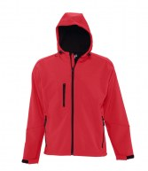 46602: SOL'S Replay Hooded Soft Shell Jacket