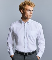 956M: Russell Collection Long Sleeve Ultimate Non-Iron Shirt