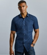 961M: Russell Collection Ultimate Short Sleeve Stretch Shirt