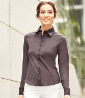 993F: Russell Collection Ladies Long Sleeve Stretch Top
