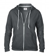 Hooded Sweatshirts - Ladies Zipped