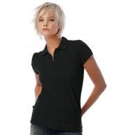 BA305F: B&C Ladies Heavymill Cotton Pique Polo Shirt