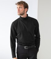 H020: Henbury Long Sleeve Roll Neck Top