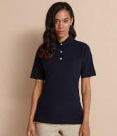 H121: Henbury Ladies Classic Cotton Pique Polo Shirt