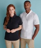 H305: Henbury Stretch Cotton Pique Polo Shirt
