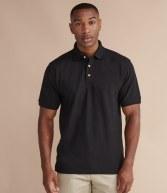 H410: Henbury Ultimate Heavy Poly/Cotton Pique Polo Shirt