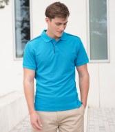 H472: Henbury Coolplus® Anti-Bac Textured Polo Shirt