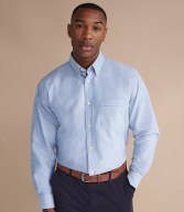 H510: Henbury Long Sleeve Classic Oxford Shirt
