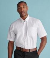 H515: Henbury Short Sleeve Classic Oxford Shirt
