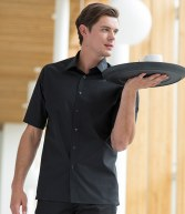 H546: Henbury Short Sleeve Semi-Fitted Shirt