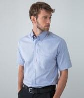 H555: Henbury Short Sleeve Oxford Shirt