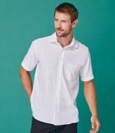 H595: Henbury Short Sleeve Anti-bac Wicking Shirt