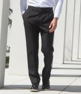 H603: Henbury Single Pleat Polyester Trousers