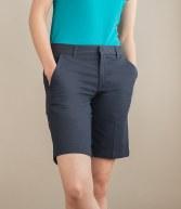 H607: Henbury Ladies Flat Fronted Chino Shorts