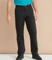 H640: Henbury 65/35 Flat Fronted Chino Trousers