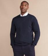 H725: Henbury Lightweight Cotton Acrylic V Neck Sweater
