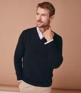 H760: Henbury Acrylic V Neck Sweater